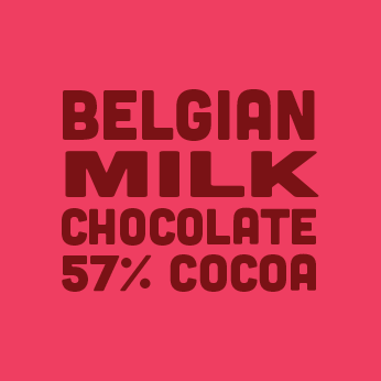 BELGIAN MILK CHOCOLATE 57% COCOA