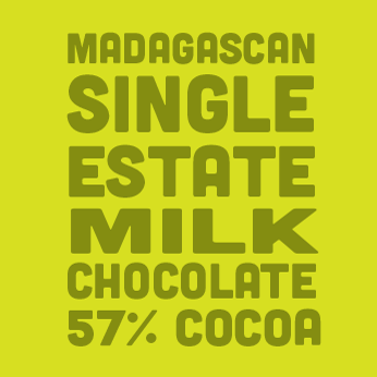 SINGLE ESTATE MILK CHOCOLATE 57% COCOA