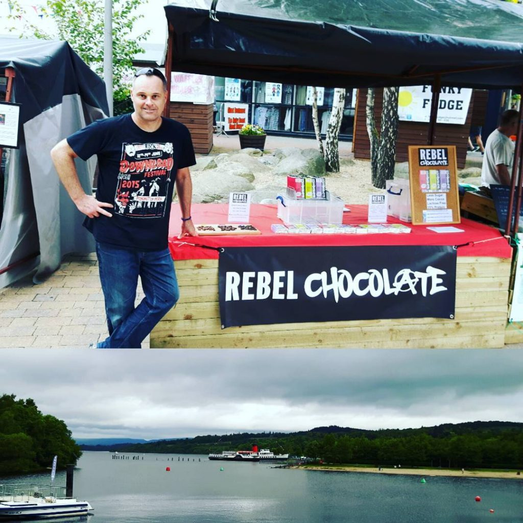 Rebel Chocolate at Loch Lomond Market